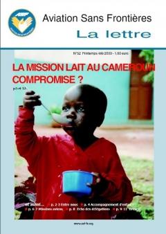 Lettre 52 - Mars 2003