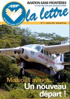 aviation sans frontieres lettre -71 octobre 2009