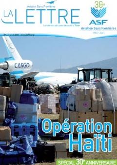 Aviation sans frontières -  Lettre  73 - Avril 2010