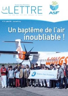 aviation sans frontières - la Lettre N°74 - juillet 2010
