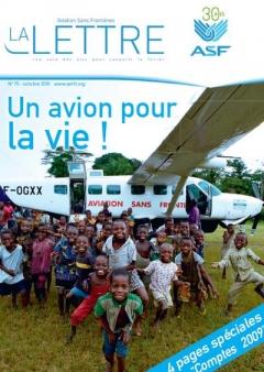 aviation sans frontières - la Lettre N°75 - Octobre 2010
