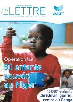 aviation sans frontières - la Lettre N°76 - Janvier   2011
