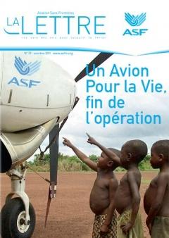 Aviation sans frontières la lettre 79 de octobre 2011