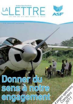 aviation sans frontières - la Lettre N°83 - octobre 2012
