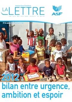 aviation sans frontières - la Lettre N°84 - janvier 2013