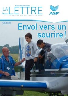 aviation sans frontières - la Lettre N°85 - Avril 2013