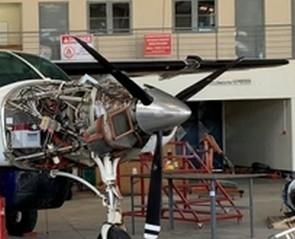 Mécanique: l'hélice de notre F-OJJD a été remplacée