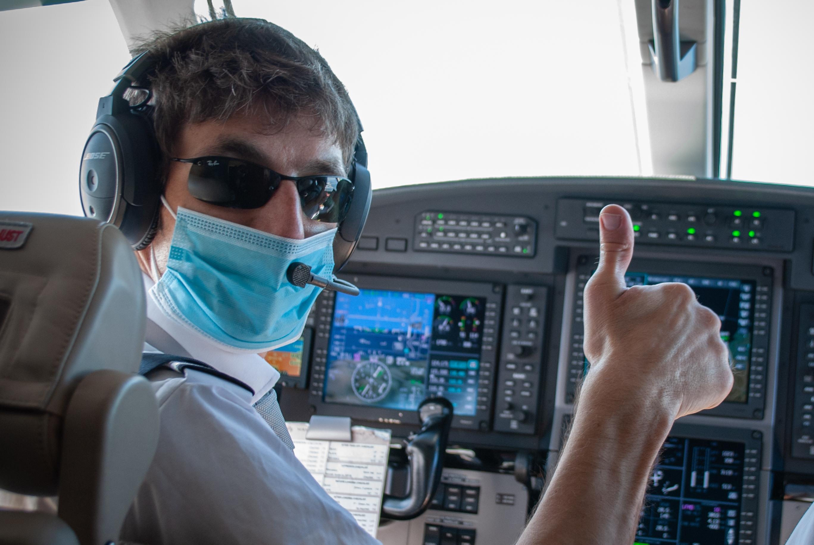 Covid-19 : retour sur les missions d'Aviation Sans Frontières