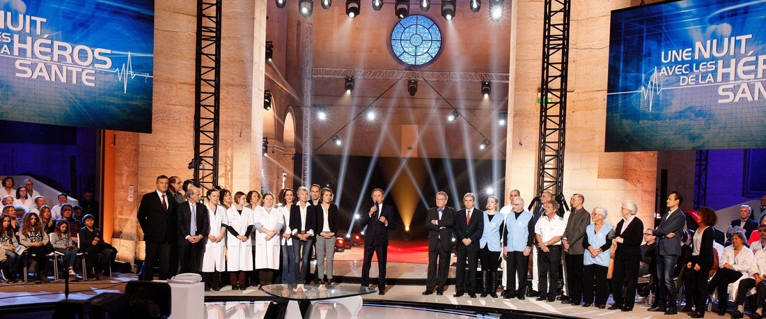 """Aviation à l'honneur dans l'émission """"Une nuit avec les héros de la Santé"""""""