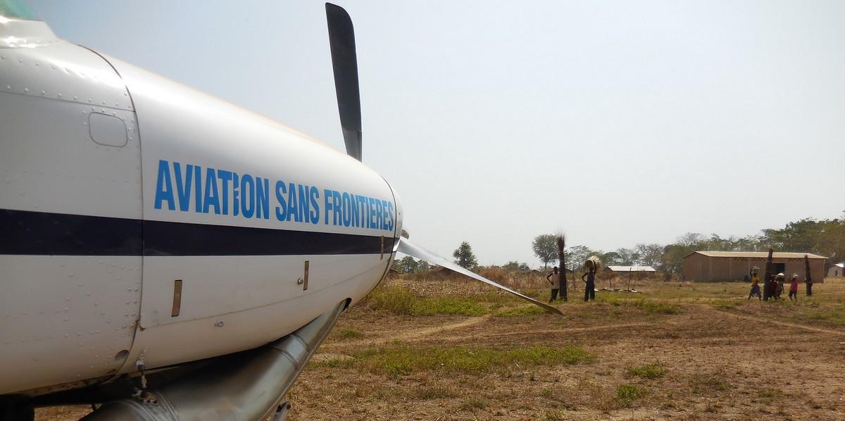 un de nos pilotes en mission à Bangui raconte