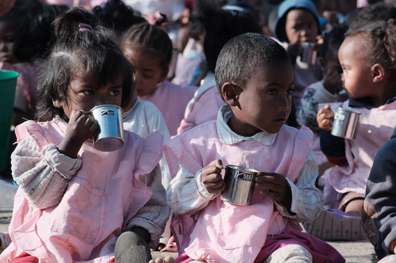 Délégation Sud-Est : 1,5 tonne de lait maternisé collecté au profit d'orphelins malgaches