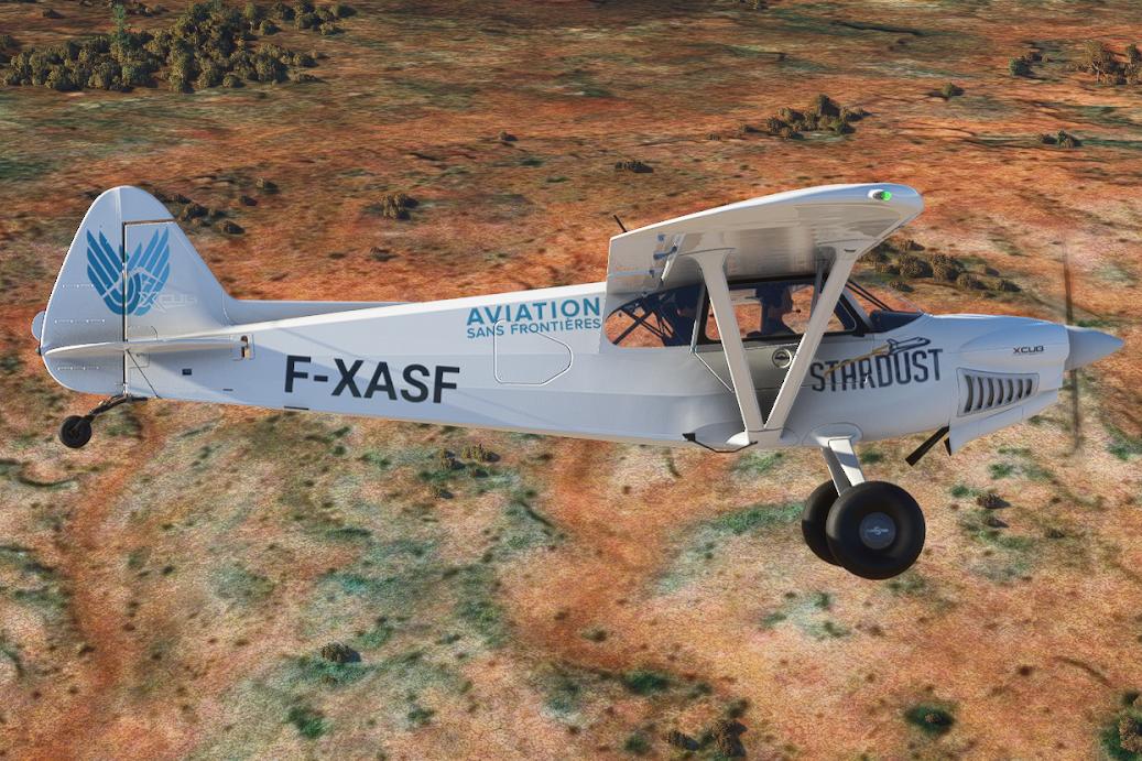 Toulouse / Ushuaia : un vol caritatif virtuel pour Aviation Sans Frontières