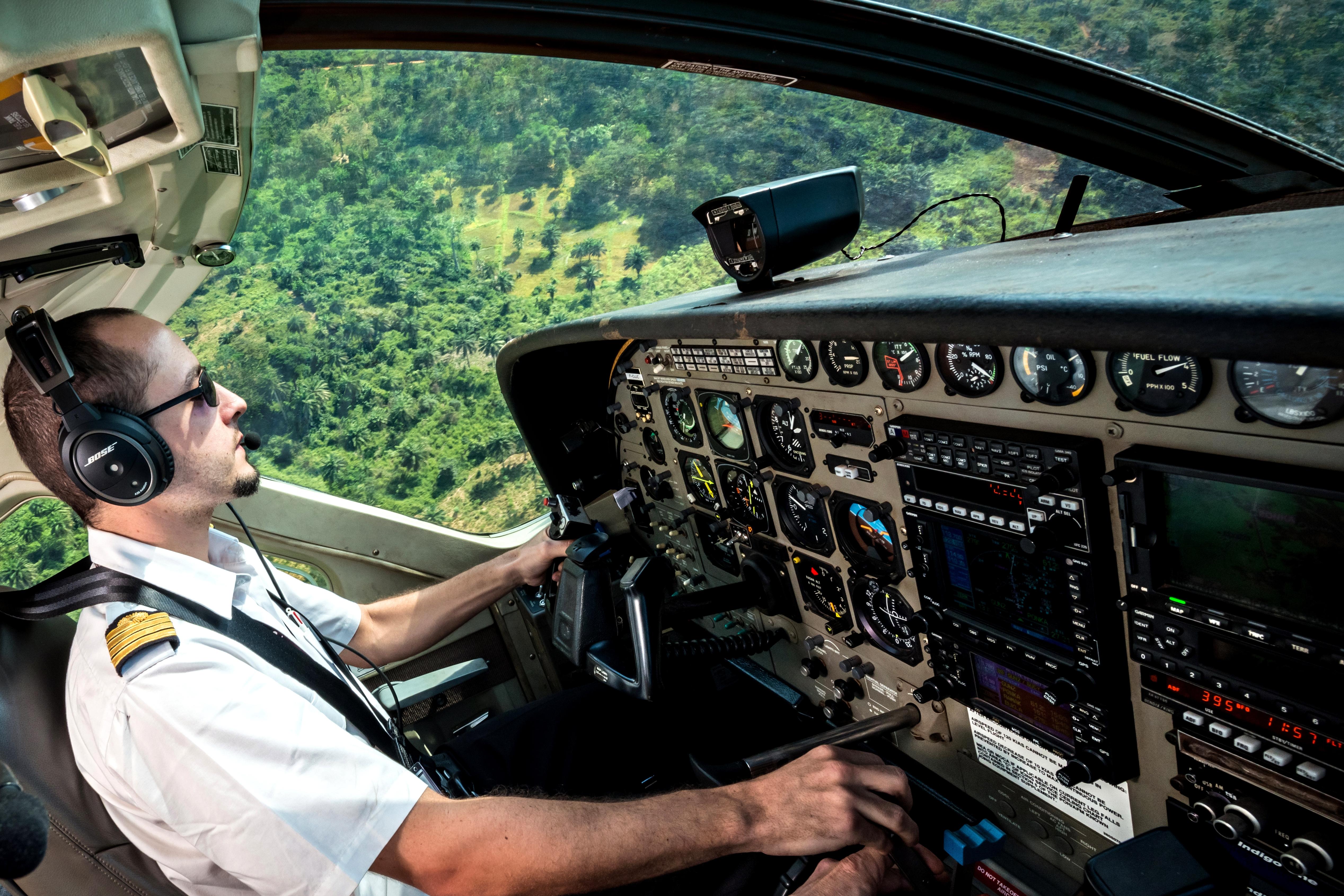 Reprise des Missions Avions en République centrafricaine et en RDC