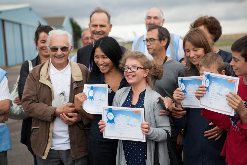 Les Ailes du Sourire de Caen et l'IEM APF France handicap d'Hérouville Saint Clair : un partenariat sous le signe de la solidarité