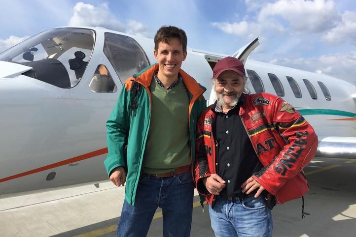 Avec Sébastien, les Ailes du Sourire se déploient au Bourget pour les personnes en réinsertion