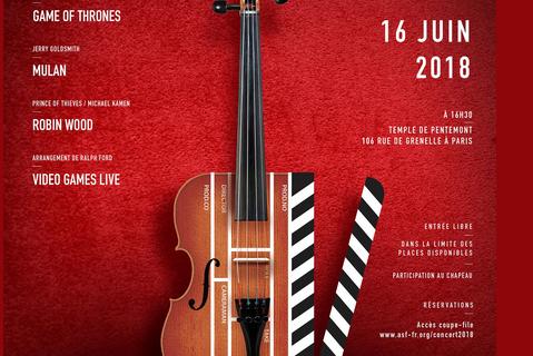 Concert : rendez-vous le 16 juin pour un concert exceptionnel !