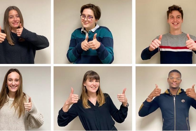 Accompagnements d'Enfants Malades : six étudiants nous soutiennent !