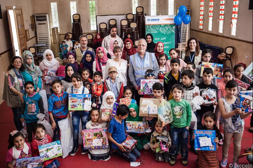 Opération Un autre Noël : retour sur la distribution de jouets pour les enfants réfugiés au Liban