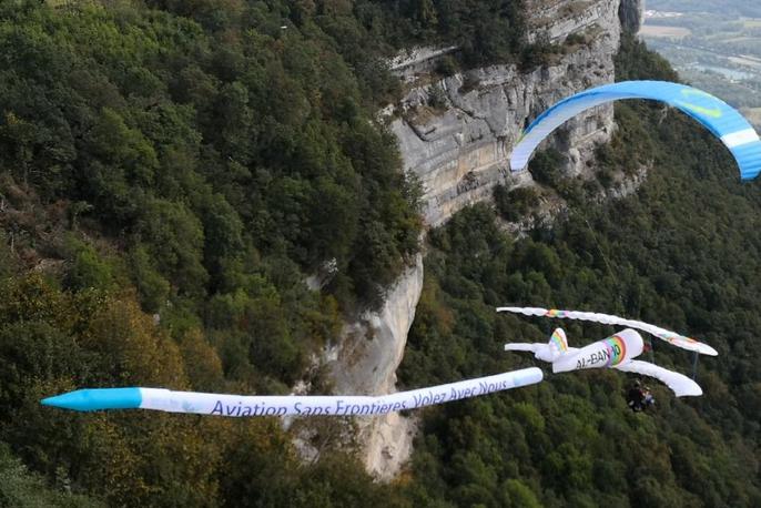 Aviation Sans Frontières s'envole lors la 46e coupe Icare