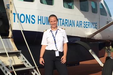 Portrait d'Isabelle, pilote pour les Missions Avions