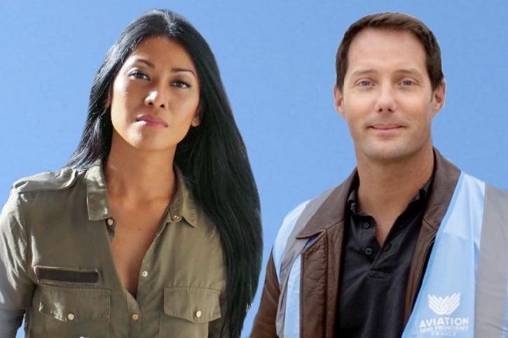 Anggun et Thomas Pesquet soutiennent la mission Covid-19