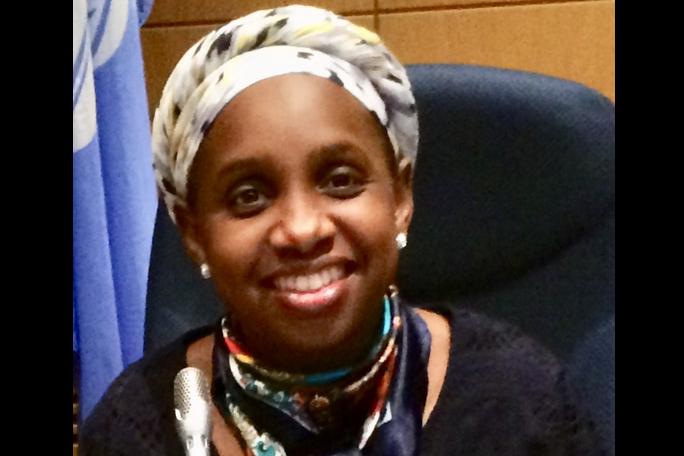 Portrait de Didjatou Oumarou, adjointe qualité et responsable EFB